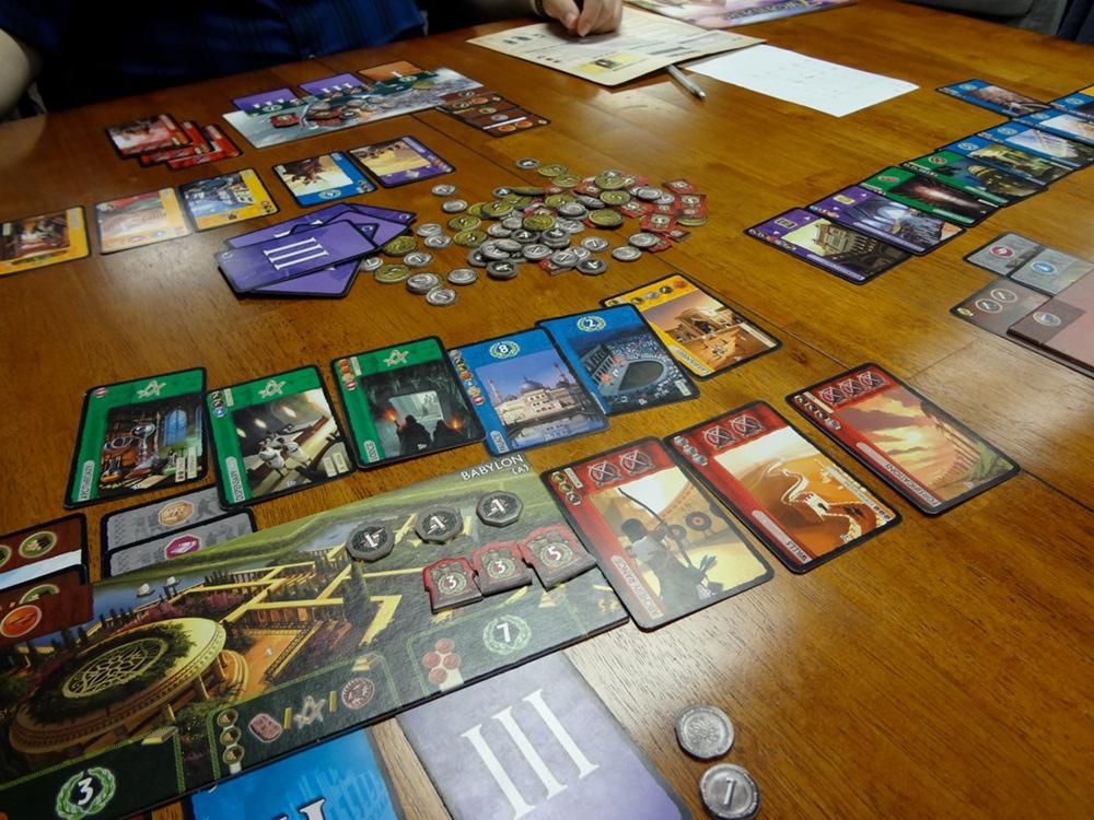 7 wonders board game gameplay