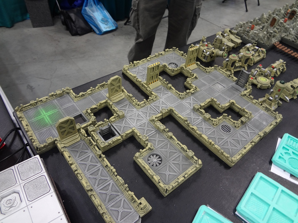 Sci Fi Terrain Craven Games In Depth Tabletop Games And