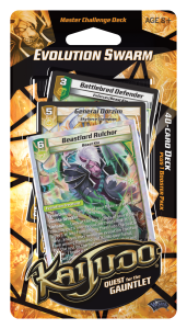 Kaijudo Evolution Swarm 40-card reconstructed deck package